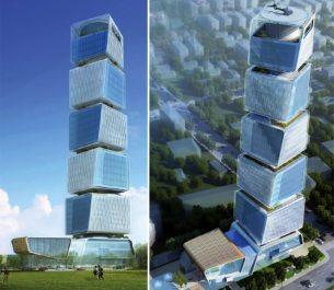 Azerbaycan Bakü Vergiler Bakanlığı Genel Merkez Binası