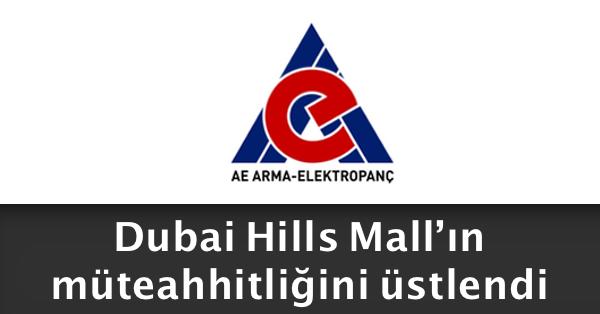 ae arma elektropanç dubai hills mall