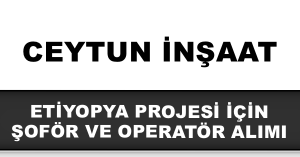 ceytun inşaat iş ilanları