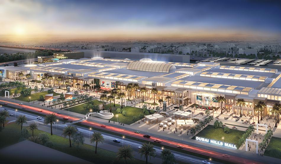 dubai hills mall alışveriş merkezi