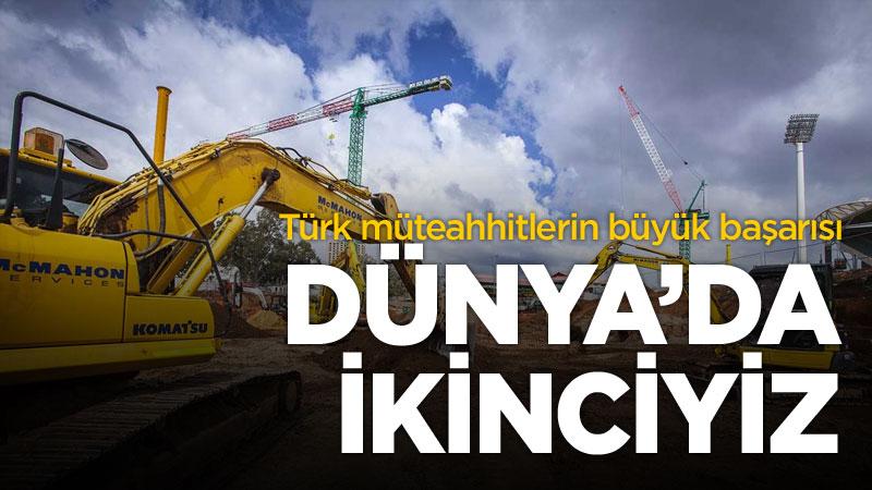 türk müteahhitler yurtdışı başarısı